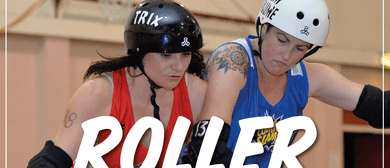 Roller Derby: Brutal Pageant vs Comic Slams