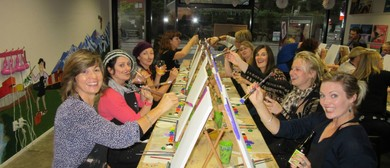 Painting & Sipping, Social Painting