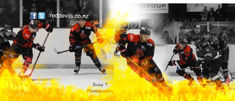 NZIHL League Game Canterbury Red Devils V Botany Swarm