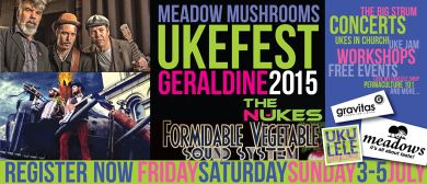 Geraldine  Ukefest  - Saturday Events