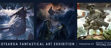 Aotearoa Fantastical Art Exhibition, by White Cloud Worlds