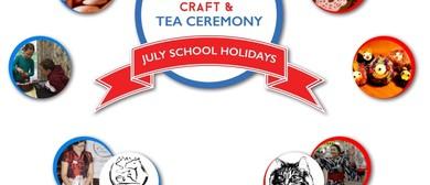 School Holidays Kids Modern Style Craft & Tea Ceremony