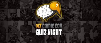 NZ ComicCon Quiz Night