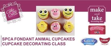 SPCA Fondant Animal Cupcakes with GoBake