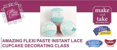 Amazing Cupcakes using Instant Lace with GoBake