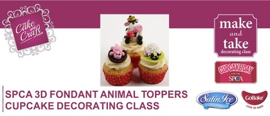 SPCA 3D Fondant Animal Toppers with GoBake