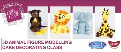 3D Animal Figure Modelling Class with GoBake
