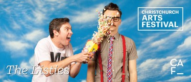 Christchurch Arts Festival: The Listies 6D