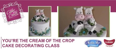 You're The Cream of the Crop Cake with - Lisa Hansen