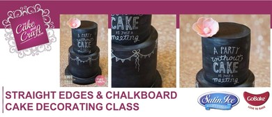 Straight Edges & Chalkboard Cake with Jess Atkins & Jo Tan