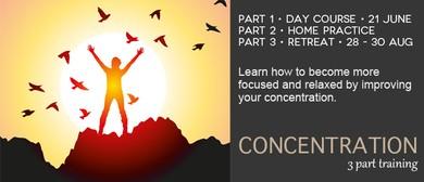 Concentration 3 Part Course