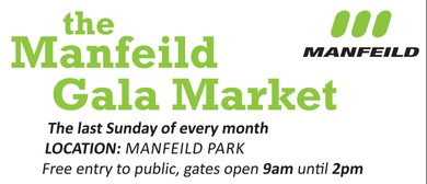 The Manfeild Gala Market.