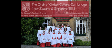The Choir of Christ's College, Cambridge