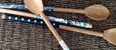Fabric Decoupage Wooden Spoon Workshop