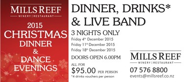Mills Reef Christmas Dinner & Dances