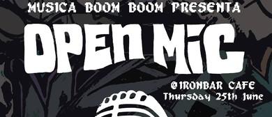 Musica Boom Boom presents Open Mic