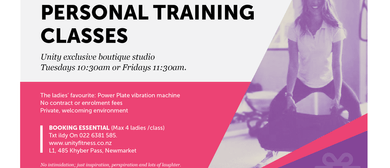 Ladies Only 4-on-1 Personal Training Classes