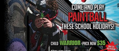 Play Paintball These July School Holidays