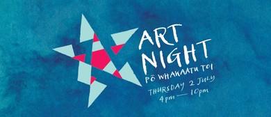Tuatara Open Late: Art Night with Newtown Rocksteady