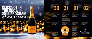 Clicquot Apres Ski Snow Bar