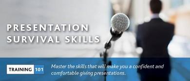 Training101: Presentation Survival Skills