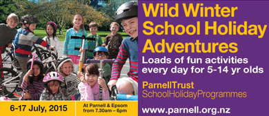Snacking Safari - Parnell Trust School Holiday Programme