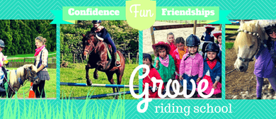 Grove Riding School - July Holiday Programme