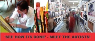 4 Day Pop Up Art Sale