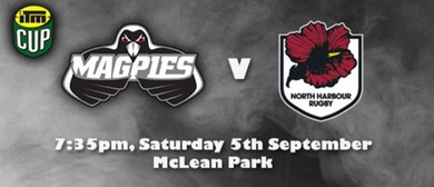 ITM Cup 2015 - Magpies v North Harbour