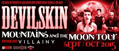 Devilskin Mountains and the Moon Tour: CANCELLED