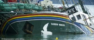 Rainbow Warrior Bombing 30th Anniversary - Photo Exhibition