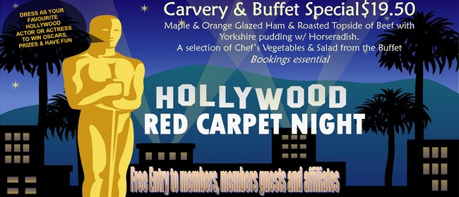 Hollywoods Red Carpet Night