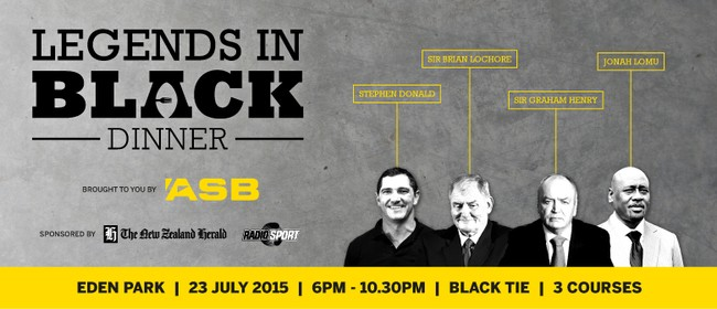 Legends in Black Dinner