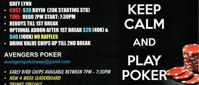 Thursday Texas Holdem Poker