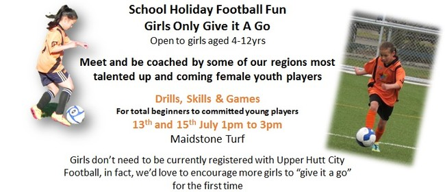 School Holiday Girls Only Football Fun