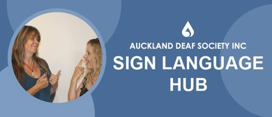 Sign up for New Zealand Sign Language