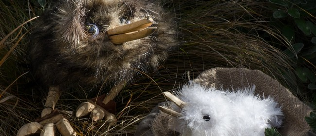 String Bean Puppets - Kiwis
