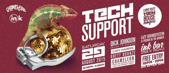 Tech Support feat. Dick Johnson (Plat It Down) + More