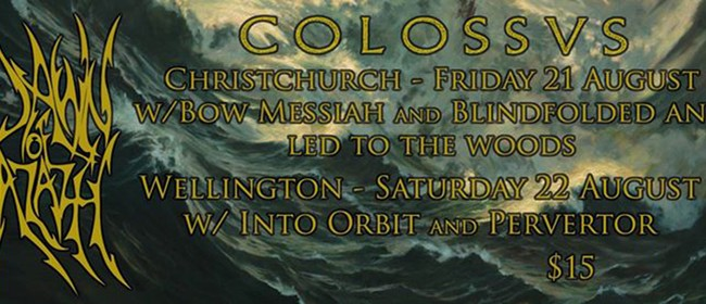 Dawn Of Azazel and Colossvs NZ Tour