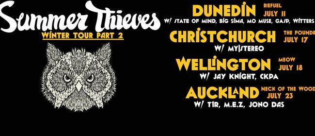 Summer Thieves (Hip Hop Reggae) - Winter Tour Pt 2