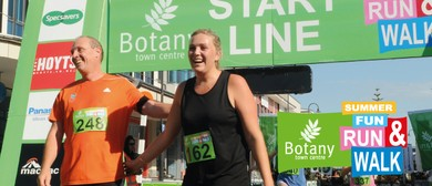 Botany Town Centre Summer Fun Run & Walk