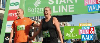 Botany Town Centre Summer Fun Run & Walk
