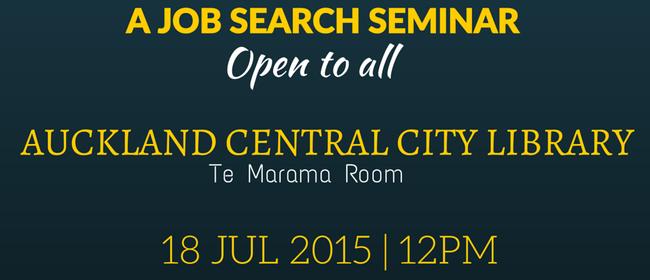 Start Right NZ Job Search Seminar