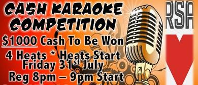 $1000 Karaoke Competition