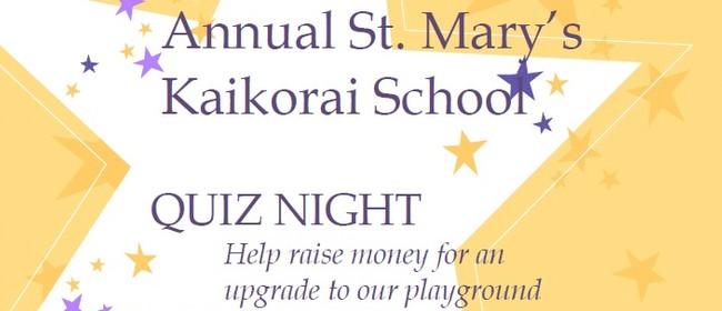 St. Mary's Kaikorai School Annual Quiz night