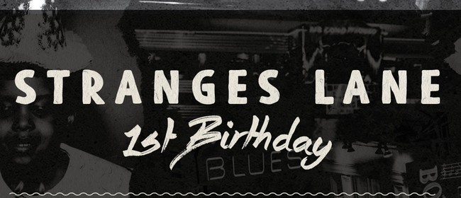Stranges Lane First Birthday