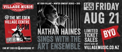 Nathan Haines Sings With The Art Ensemble
