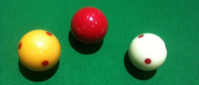 Harcourt/Robinson Open Billiards Championship