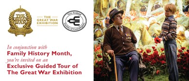 The Great War Exhibition Supporting Family History Month
