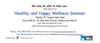 Healthy and Happy Wellness Seminar